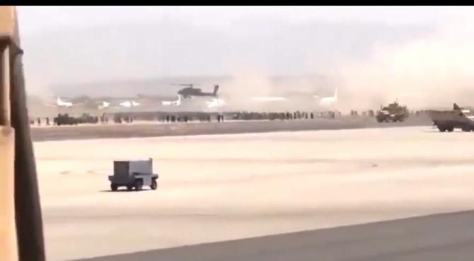 Afganistan. Trupele americane au deschis focul pe aeroportul din Kabul
