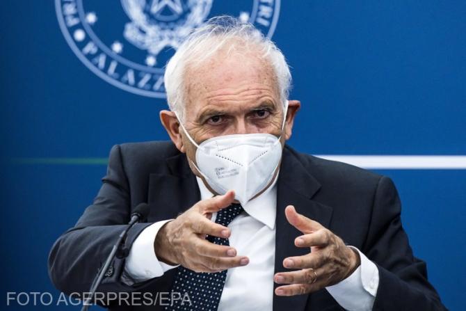 Ministrul Educației Patrizio Bianchi