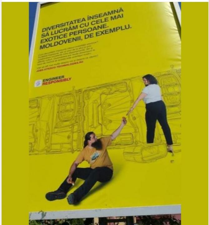 Moldovenii, descrişi ca fiind  cele mai exotice persoane. Mesaj publicitar controversat în Timișoara