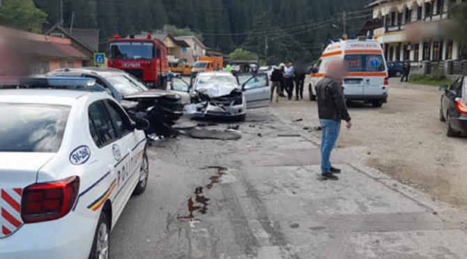 Patru români, victime în urma unui accident cumplit. FOTO: captură suceava-smartpress.ro