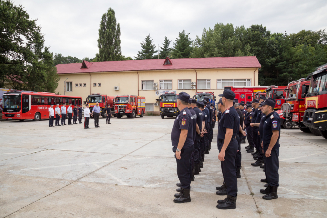 sursa foto: IGSU - Inspectoratul General pentru Situatii de Urgenta, Romania / Facebook