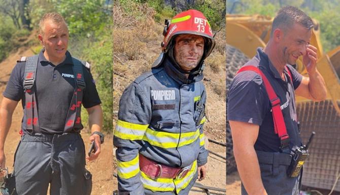 """Pompierii români din Grecia au plecat fără să stea pe gânduri """"Avem timp să mergem acasă să ne anunțăm familiile"""""""