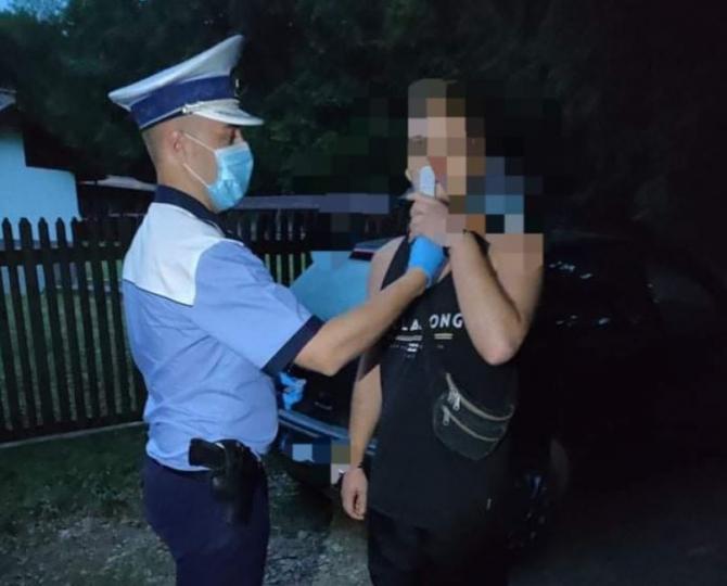 Șoferi români, prinși, la volan, sub influenţa substanţelor psihoactive  Sursa - politia romana