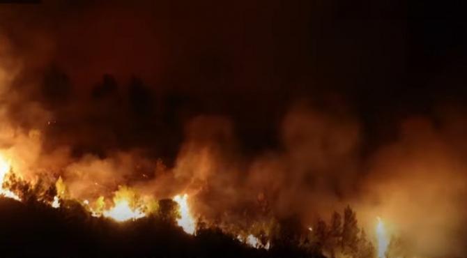 Teroare în Atena. Mai multe case au ars, iar valul de căldură a atins cote maxime