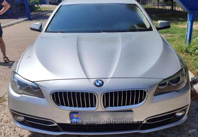 Un moldovean, prins la volanul unui automobil BMW, pe drumurile din România, fără a avea permis de conducere