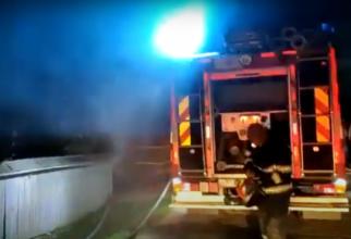 Incendiu la un spital din România. Au fost evacuați 150 de pacienți evacuați