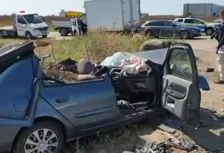 Patru DRUMARI de la CNAIR ar fi FURAT un telefon și 250 de lei de la două victime DECEDATE într-un ACCIDENT rutier