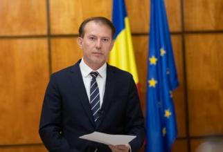 Florin Cîțu promite că românii nu vor plăti toată valoarea facturii la gaze
