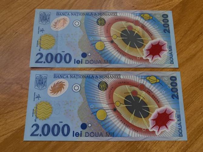 bancnota 2000 lei romaneasca