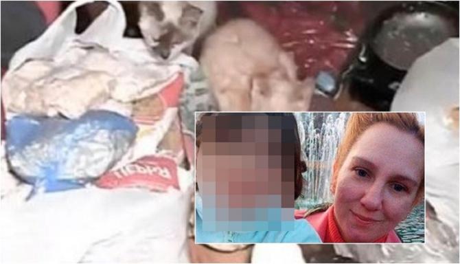 Fetiţă de 6 ani, torturată de propria mamă: A închis-o într-o cameră şi a hrănit-o cu mâncare pentru pisici