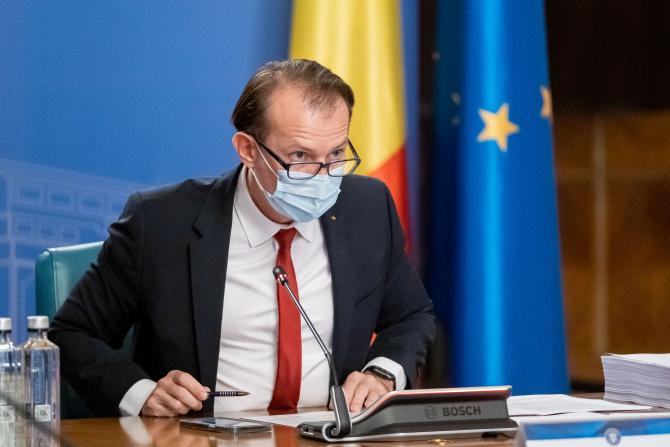 """Florin Cîțu, după moțiunea depusă de PSD: """"Se întrec pentru a arunca țara în haos"""""""
