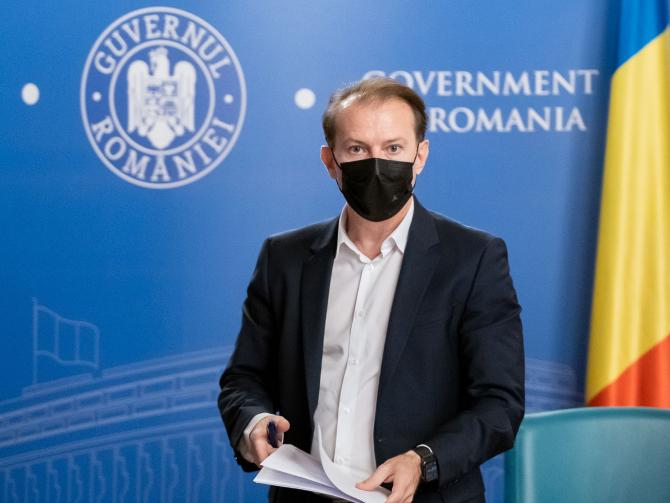 """Florin Cîțu: """"Nu am văzut un plan al Ministerului Sănătății pentru valul 4"""""""