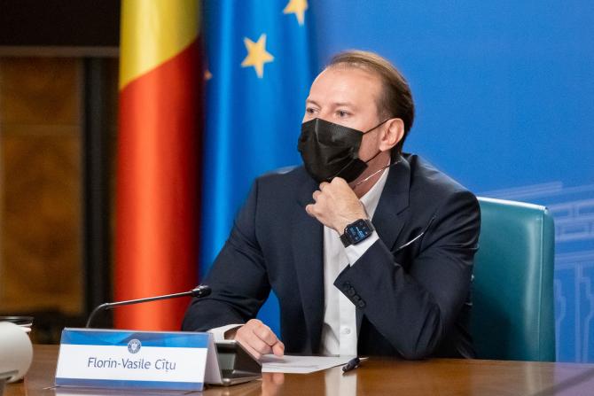 """Florin Cîţu: """"Propunem o creştere brută a salariului minim de la 1 ianuarie 2022"""""""