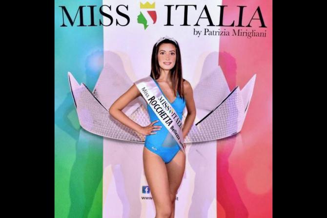 Românca Francesca Popa s-a calificat în finala Miss Italia