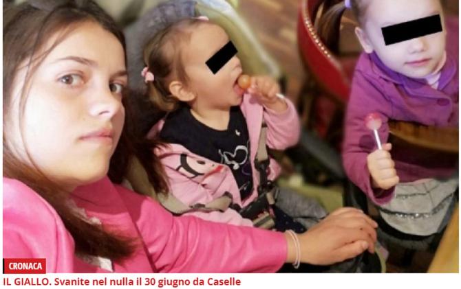 Italia. Mamă ROMÂNCĂ, DISPĂRUTĂ de PATRU LUNI cu cele două fiice de 3 și 5 ani. Tatăl micuțelor o ACUZĂ pe Alina de RĂPIRE