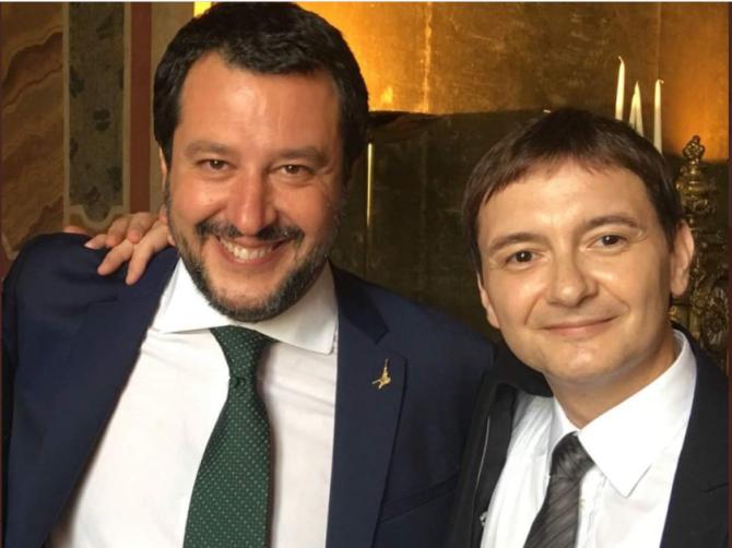 Luca Morisi ar fi fost șantajat de cei doi români cu care petrecea
