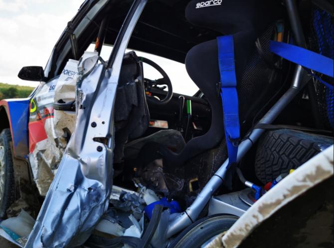 Pilotul Adrian Raspopa a murit în urma accidentului suferit la Raliul Iașiului