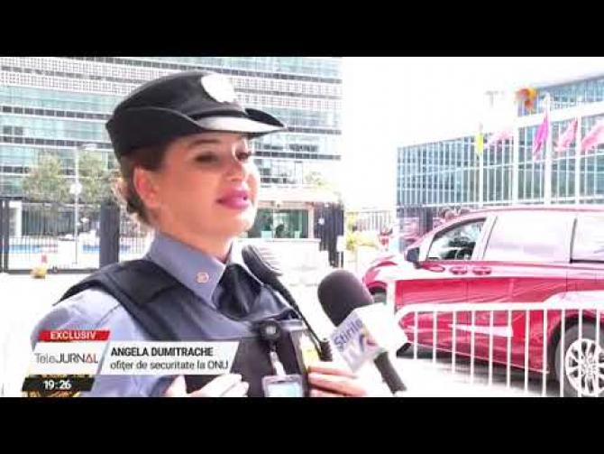 O polițistă din România, recrutată de ONU