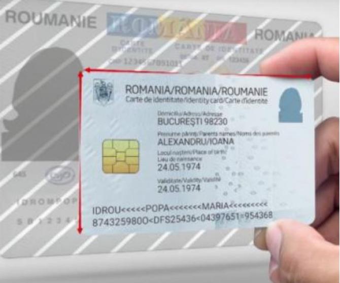Primele cărți de identitate electronice din România, eliberate, azi, la Cluj-Napoca