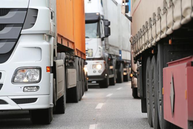 PNL vrea mai puține impozite pentru șoferii de camion