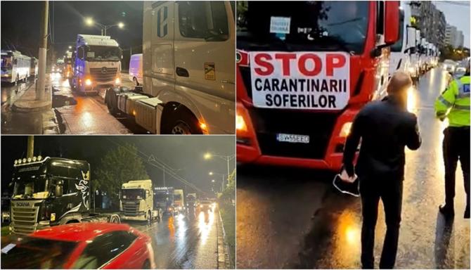 Șoferii de tir din România, afectați direct de introducerea pasaportului pentru acces în Anglia