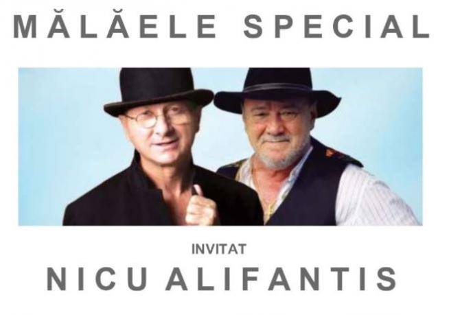 Românii din Belgia invitația la spectacol. Horațiu Mălăele și Nicu Alifantis vă așteaptă cu multe glume, monologuri, poezie și muzică