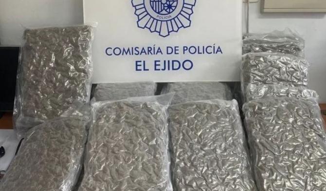 Spania. Doi români, prinși cu 18 kilograme de marijuana