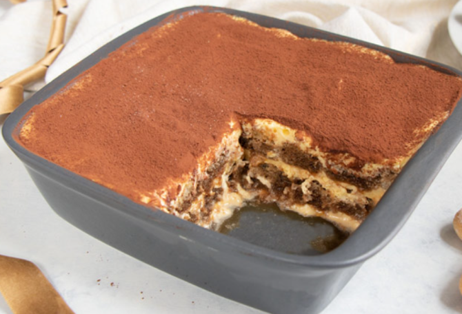 Tiramisu, rețeta originală 100% italiană din doar 5 ingrediente