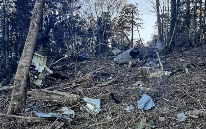 Un avion s-a prăbușit în Rusia. Toate persoanele aflate la bord au murit