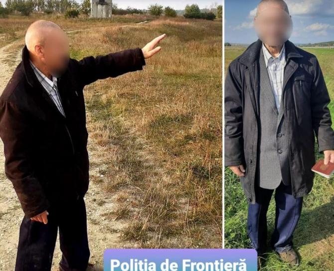 Un septuagenar rus, prins la frontieră. Bărbatul a declarat că vrea să ajungă în Austria sau Germania și să ceară azil