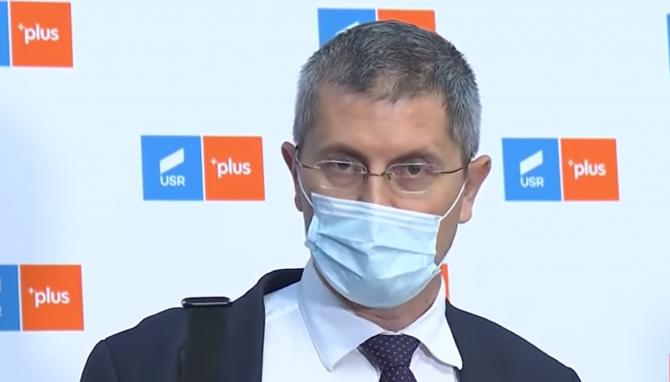 USR PLUS a votat pentru susținerea unei moțiuni de cenzură împotriva Guvernului Cîțu