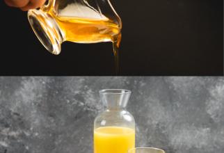 Amestecă sucul unei jumătăți de portocală cu miere. După ce încerci această mască, nu vei mai putea trăi fără ea