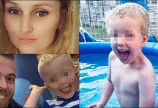 """Anglia. O femeie și-a torturat și ucis fiul vitreg de numai 6 ani: """"Te rog ajută-mă, unchiule! Am nevoie de mâncare și de apă"""". FOTO: colaj capturi dailymail.co.uk"""