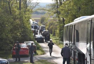 Austria. Doi morți, găsiți la bordul unui autocar. Șoferul a fugit. FOTO: captură kurier.at