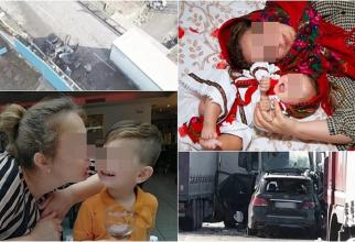 Bulgaria. Fetița unei românce, de 5 luni, moartă într-un cumplit accident. Mama și frățiorul, în stare foarte gravă
