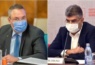 Ce au discutat Nicolae Ciucă cu Marcel Ciolacu Guvern până la 1 februarie 2022
