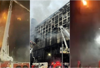 Incendiu devastator într-un bloc cu 13 etaje. Cel puțin 46 de morți - VIDEO
