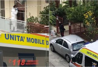 Italia. Un român și-a omorât soția și apoi s-a sinucis. Cadavrele, găsite unul peste altul în bucătărie. Un copil de 10 ani a rămas orfan