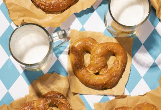 Pretzel, rețeta incredibilă a unor covrigi pufoși și delicioși. Îi poți pregăti extrem de repede!