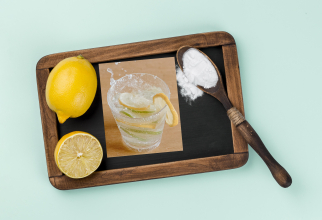 Pune o linguriță de bicarbonat de sodiu și sucul unei lămâi într-un pahar cu apă minerală. Face minuni!