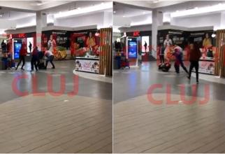 Români, scandal în mall: Nu au vrut să poarte mască și nici să prezinte dovada că s-au vaccinat