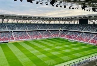 Bătaie pe stadionul Ghencea. Un român a aruncat cu berea într-un oficial al Armeniei