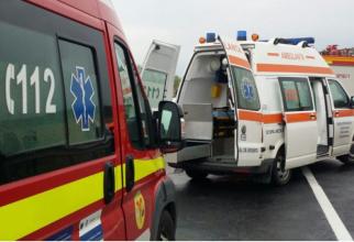 Un biciclist a murit, după ce a fost lovit de o ambulanță în Vrancea