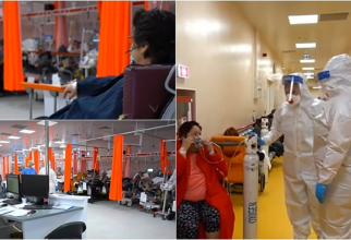 """Unitatea de primiri urgențe de la """"Bagdasar Arseni"""", sufocată de pacienți infectați cu SARS-Cov-2. Imagini revoltătoare"""