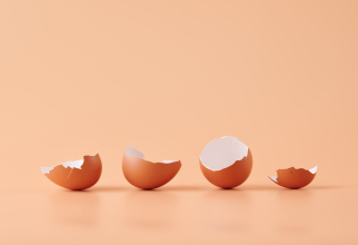 Zdrobește coaja unui ou fiert, adăugați apă caldă și o picătură de detergent de vase și agitați bine. Rezultat incredibil!