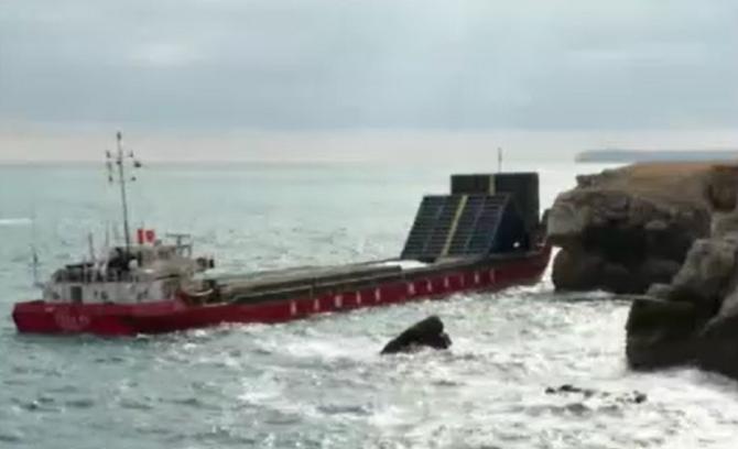 """Alertă la granița cu Bulgaria! Nava eșuată """"Vera Su"""" nu mai poate fi salvată. Pericolul este uriaș"""