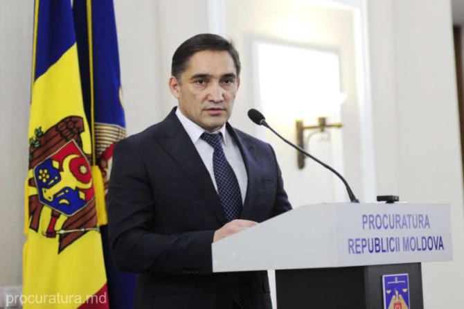 Procurorul general al Moldovei, arestat pentru 72 de ore