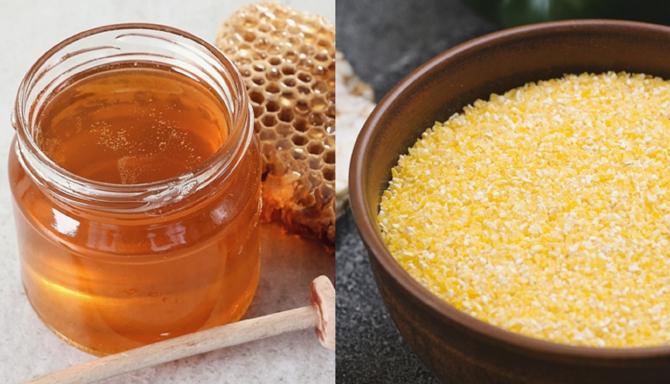 Amestecă o lingură de miere cu o lingură de mălai. Un truc fantastic și ieftin la care nu te-ai fi gândit!