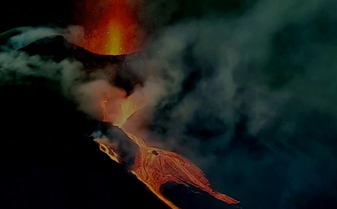 Vulcanul din La Palma continuă să facă ravagii
