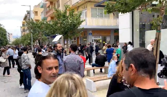 Cutremur cu magnitudinea 6,4 în Grecia. Oamenii s-au speriat și au ieșit pe străzi